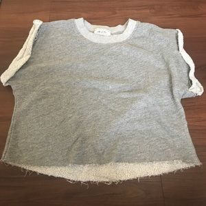 Urban outfitters small gray top short sleeve